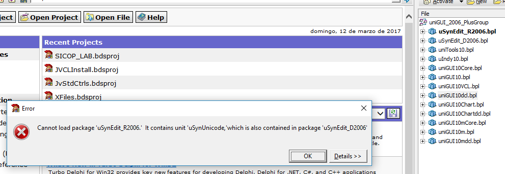 FMSoft_1 0 0 1378 uSynEdit SynEdit installation issues