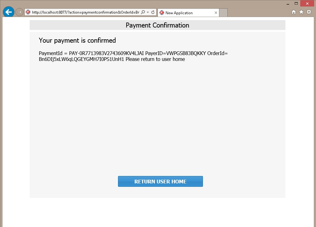 Shopping Cart Sample + paypal payments - Sample Projects - uniGUI
