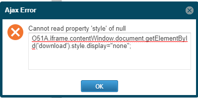 Version 1508 - Error in action to hide TUniPDFFrame button